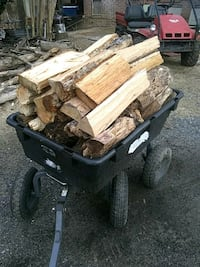 Seasoned firewood ready to burn 30 pieces for $20