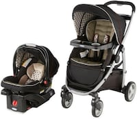 Graco Antiquity Stroller with Car seat and two bases -$100(OBO) HERNDON