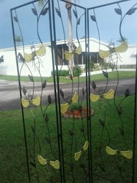 green and yellow metal plant pot rack Winter Haven, 33884