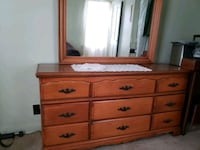 Dress drawer with mirror Natrona Heights, 15065
