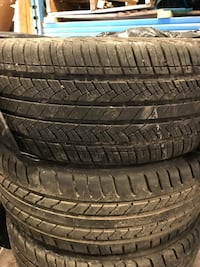 Size 18 tires fairly new Mississauga, L4T 3K1
