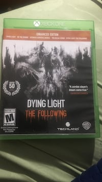 Dying Light Xbox One game case Leto, 33614