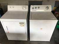 Top Load Washer and Front Load Dryer 554 km