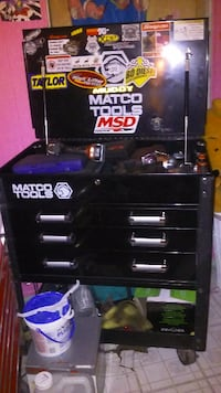 black Matco Tools chest