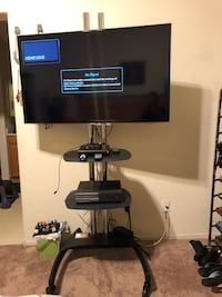 TV stand, almost new, 7 ft. talk.  I am NOT selling the TV.  Las Vegas, 89183