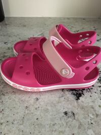 New croc sandals size 11, Scarborough Midland and st Clair for pick up only  Toronto, M1M 0C3