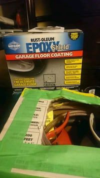 Epoxy GARAGE FLOOR COVERING KIT