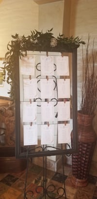Clip photo frame or wedding seating chart Mississauga, L5N 7G1