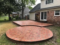 brick patio Springfield