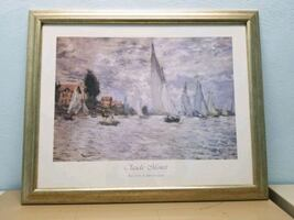 Framed artwork- Claude Monet print