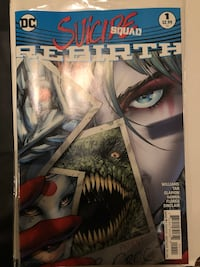 Suicide Squad Rebirth Comic Book