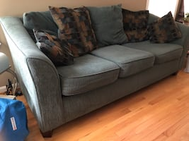 Triple seat couch