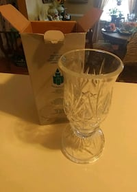Partylite glass candleholder
