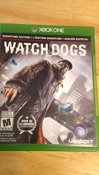 Watch Dogs Xbox One game case Peterborough, K9J 5X7
