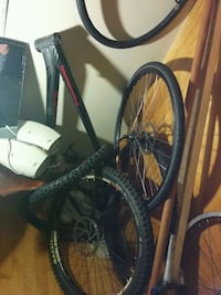 black and red hardtail mountain bike Kelowna, V1Y 2R3