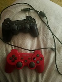 black and red Sony PS3 game controllers San Diego, 92154