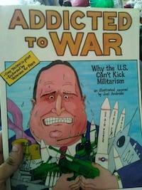 addicted to war comic book