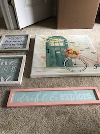Room decor $40 for all 4