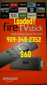 Amazon Fire TV stick with Alexa Voice Remote box Rowland Heights, 91748