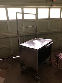 Stainless steel sample cart Rogers, 72756