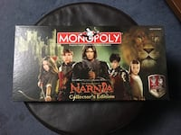 Chronicles of Narnia Monopoly Collectors Edition Beaverton, 97006
