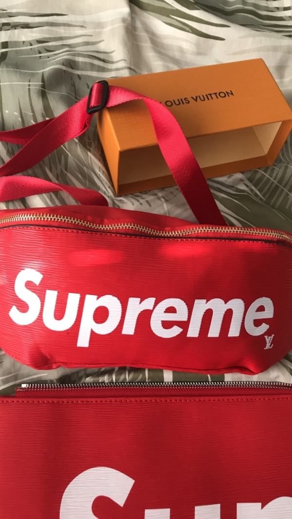accd4e8b8 Used Supreme x Louis Vuitton fanny pack for sale in Riverside - letgo