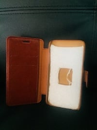 Leather Samsung Phone Case- New College Station, 77840