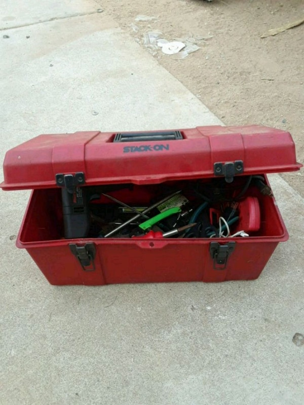 Tool box includes tools!