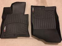 Weathertech front floor liners (like new) Hyundai Sonata / Kia Optima