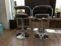 "Can. Tire ""For Living"" Adjustable Bar Stools x 2 Toronto, M5G 1S9"