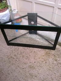 Metal and glass TV stand Alexandria, 22315