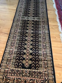 Brand new carpet runner size 3x10 nice black rug runners Arlington, 22203