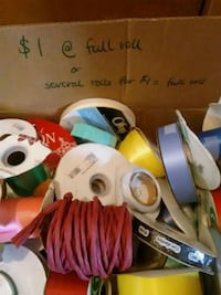 Rolls of Ribbon, perfect for craft projects Waynesboro, 22980