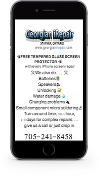 Phone screen repair Clearview, L0M
