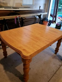 rectangular brown wooden dining table Eagleswood, 08092