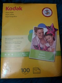 Kodak Photo Paper 100 Sheet Pack Unopened
