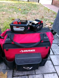 12.0HD Milwaukee battery with 5.0xc & husky bag Alexandria, 22309