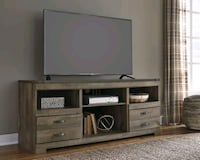 Trinell Brown LG TV Stand | W446-68   Houston