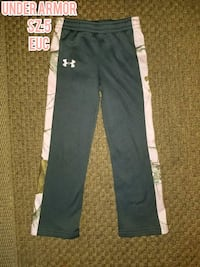Pink and grey under armor pants  Rochester Hills, 48307