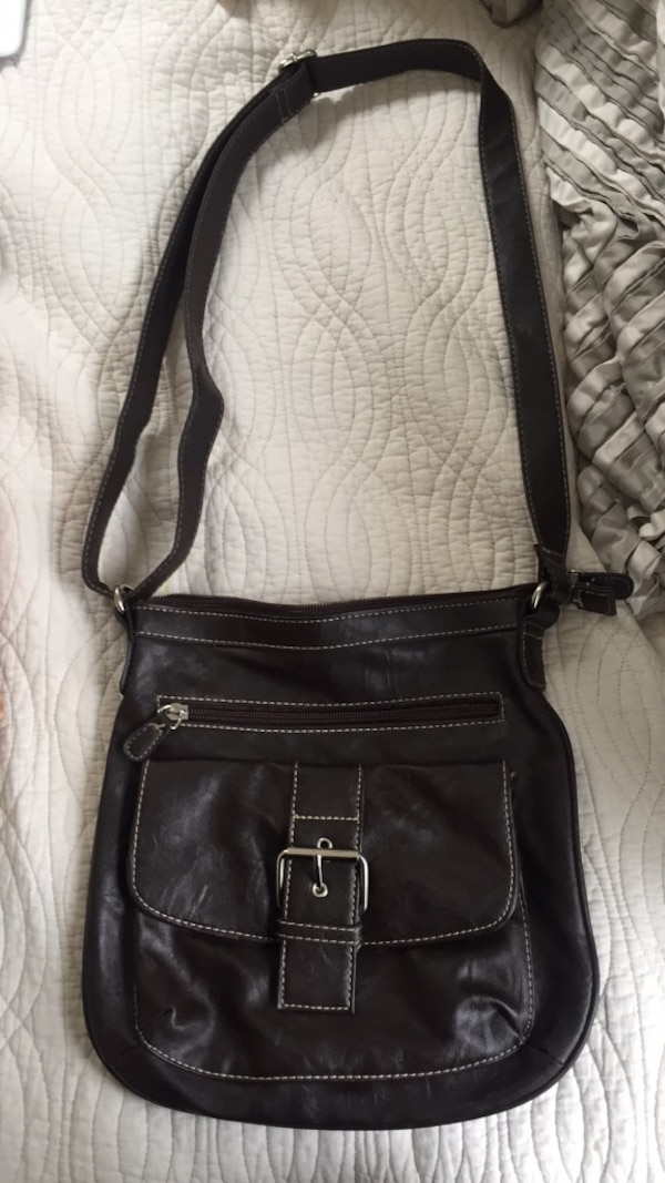 46b3e6bf891 Used Brown leather bag for sale in New York - letgo