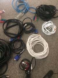 assorted-color coated cable lot Calgary, T3J 3A1