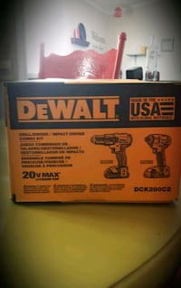 DeWALT drill/driver/impact driver combo set Virginia Beach, 23453