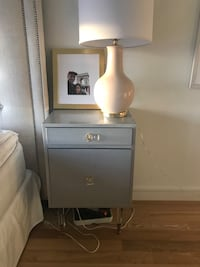Anthropologie lacquered regency nightstand New York, 10010