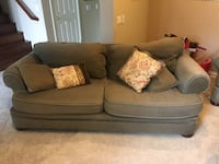 Sofa and Love Seat - Sage Green with pillows Irvine, 92618