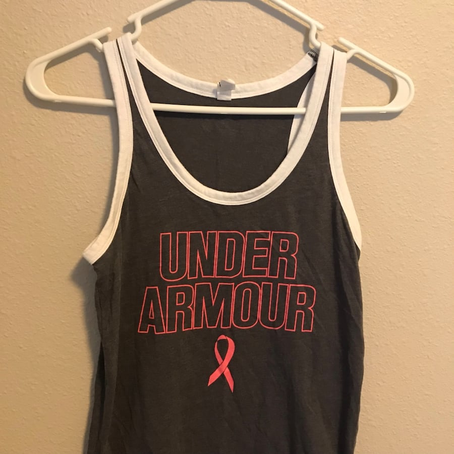 Breast Cancer Under Armour tank top