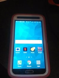 white Samsung android smartphone with box Porterville, 93257