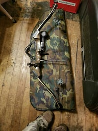 brown and black composite bow Butler, 46721