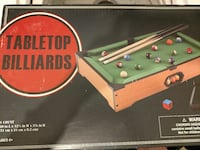 Table top pool table Judson, 75605