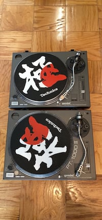 Gemini PT-1000 direct drive turntables