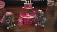 Shopkins dolls and play set Pickering, L1V 1N8